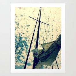 Breeze. Art Print