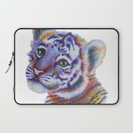 Colorful Tiger Cub Laptop Sleeve