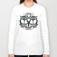 the who Long Sleeve T-shirts featuring Who by VirgoSpice