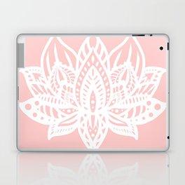 Pink Lotus Laptop & iPad Skin