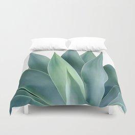 Agave blanco Duvet Cover