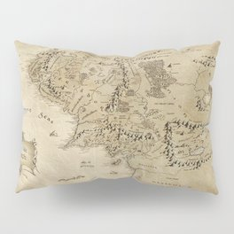 Lord Of The Ring (Map) Pillow Sham