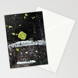 Lichens on a Tree Bark Stationery Cards