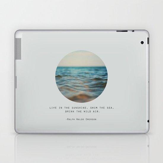 Swim The Sea Laptop & iPad Skin