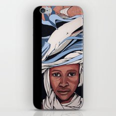 A fisherman dream iPhone & iPod Skin