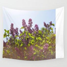 Hazy Lilacs Wall Tapestry