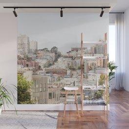 Top of a San Francisco Hill - San Francisco Photography Wall Mural
