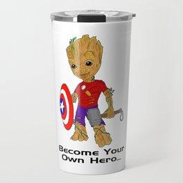 Become Your Own Hero Travel Mug