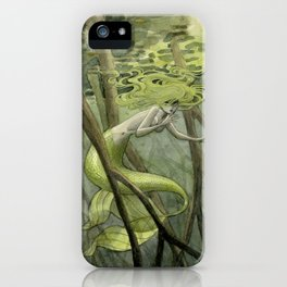 Mangrove Mermaid iPhone Case