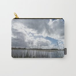 Cloudy sunset in the lagoon. Carry-All Pouch