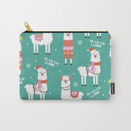 Fa-La-La-Llama Carry-All Pouch