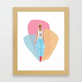For Real This Time Framed Art Print
