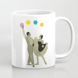 Throwing Shapes on the Dance Floor Coffee Mug
