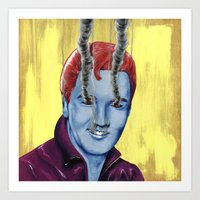 elvis Art Prints featuring Elvis by FAMOUS WHEN DEAD
