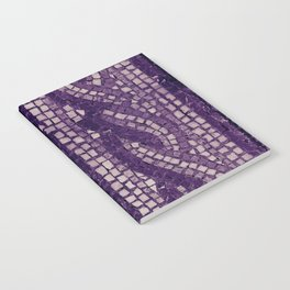 stone tile 4378 ultra violet Notebook