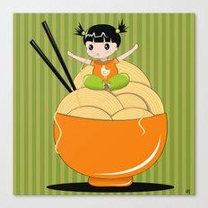 noodle..noodle.. noodle!!! Canvas Print