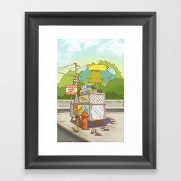 Street Meat Framed Art Print