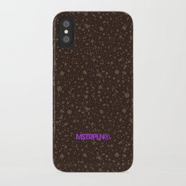 Trail Status / Brown iPhone Case