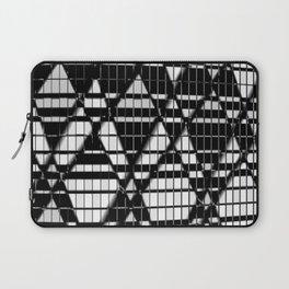Black And White Diamonds Laptop Sleeve