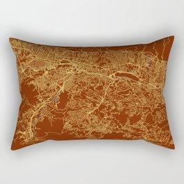 Caracas, Venezuela street map Rectangular Pillow