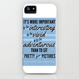 BE VIVID iPhone Case
