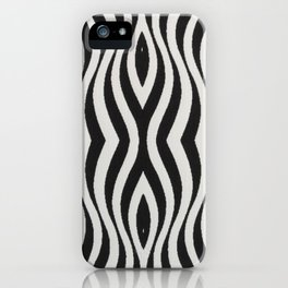 Jazz, black and white iPhone Case