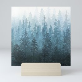 My Misty Secret Forest Mini Art Print