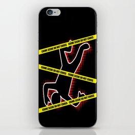 Crime Scene iPhone Skin