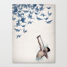 Lucky Shot Canvas Print