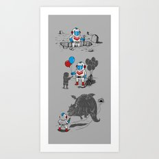 Mr. Dug alternatives jobs Art Print