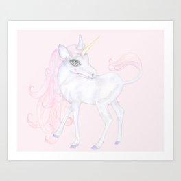 Unicorn ♡ Art Print