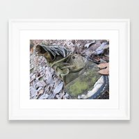 shoe Framed Art Prints featuring Shoe by DillonWire