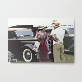 At The Races, 1937 Style Metal Print