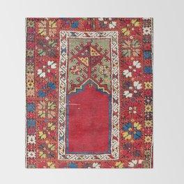 Mujur Central Anatolian Niche Rug Print Throw Blanket