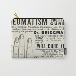 Righteous Rheumatism Carry-All Pouch