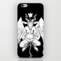 baphomet iPhone & iPod Skins featuring baphomet by musa