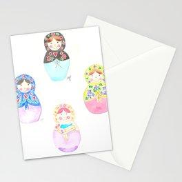 Nesting Dolls Stationery Cards