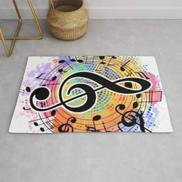 Let's Make Colorful Music Rug