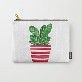 Little Ficus Carry-All Pouch
