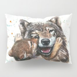 Wolf - Father and Son Pillow Sham