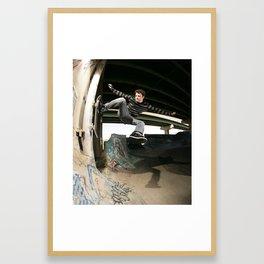 Bam - FDR 1 foot Framed Art Print