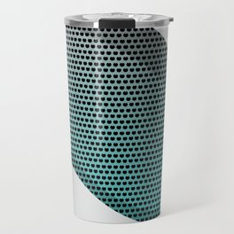 Silver Metal Texture background  #society6 #decor #buyart #artprint Travel Mug