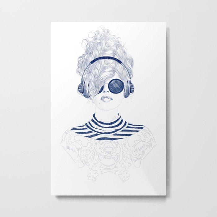 Groove Baby Metal Print