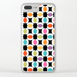 Seamless Floral Pattern XI Clear iPhone Case