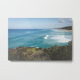 Sunny Beach Metal Print