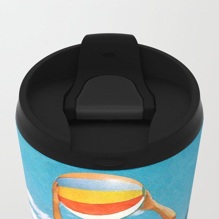 Poseidon in Love Metal Travel Mug