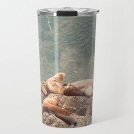 Sea Lion Posse Travel Mug
