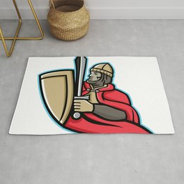 Medieval King Regnant Mascot Rug