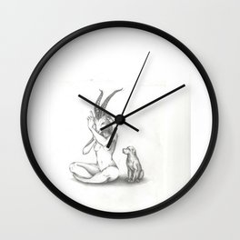 hom Wall Clock