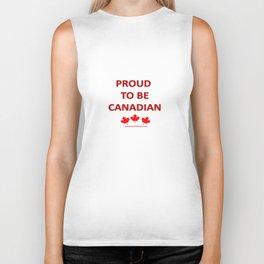 Proud Canadian Biker Tank